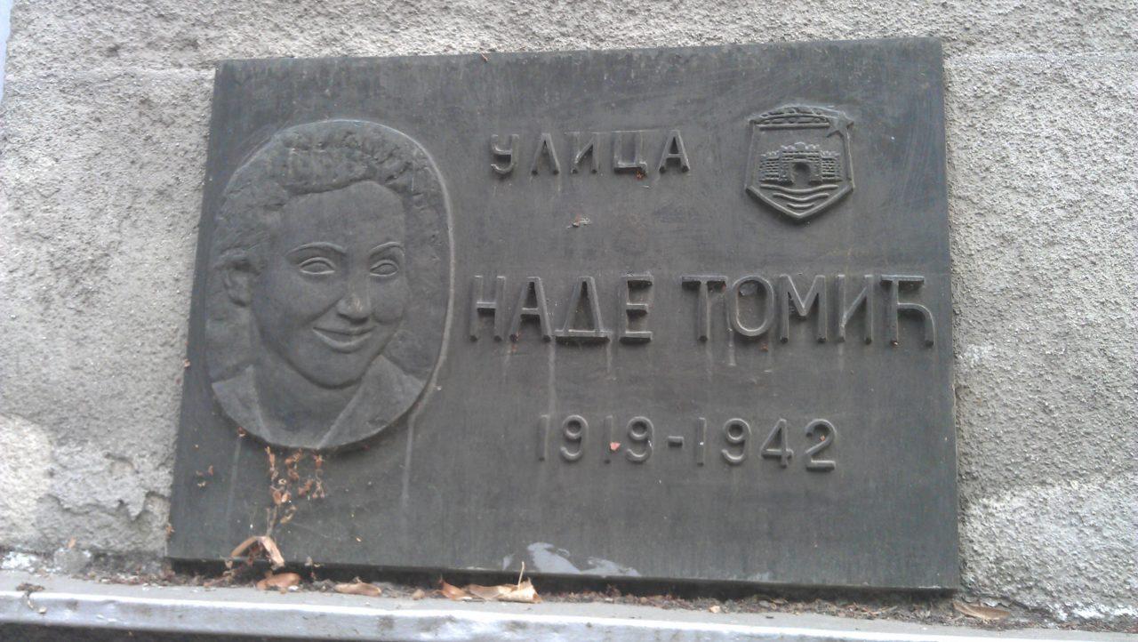 Ulica Nade Tomic