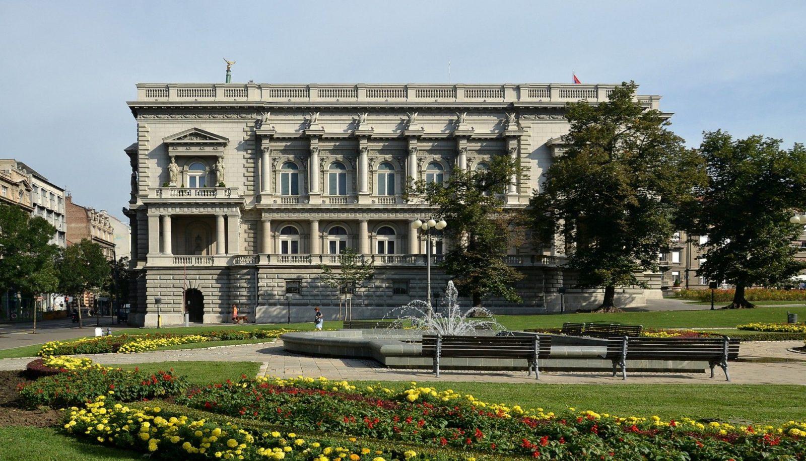 dvor sa balskom dvoranom u Nišu, današnji Stari dvor